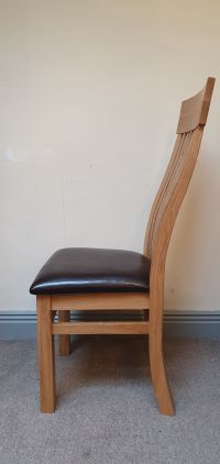 Loxley Solid Oak Dining Chair